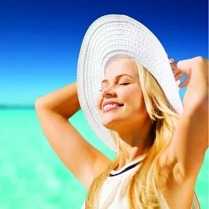 proteger cheveux soleil