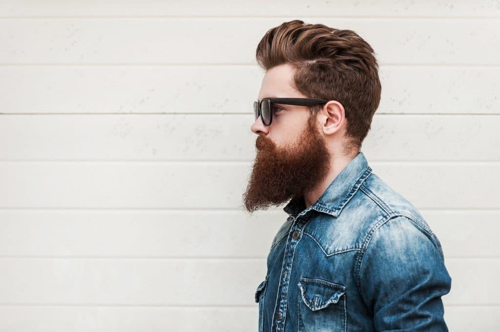 barbe lisse